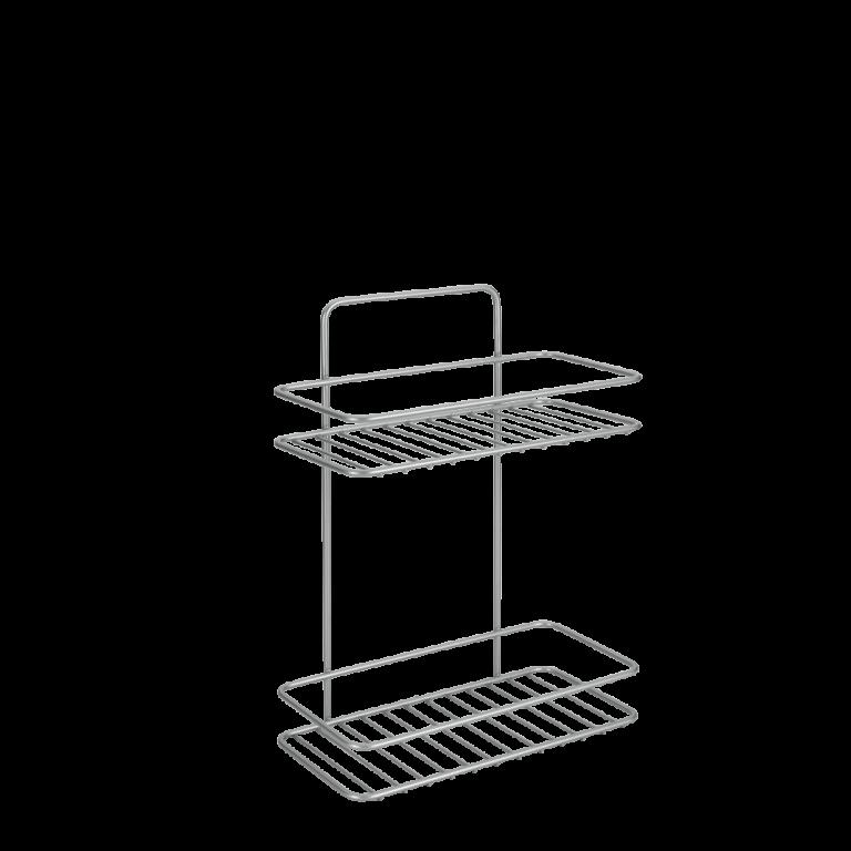 Etagère rectangulaire 2 niveaux – 40.42.12