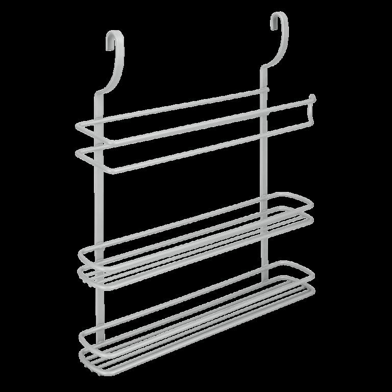 Etagère 3 niveaux Deux étagères avec porte papier essuie-tout – 35.07.18