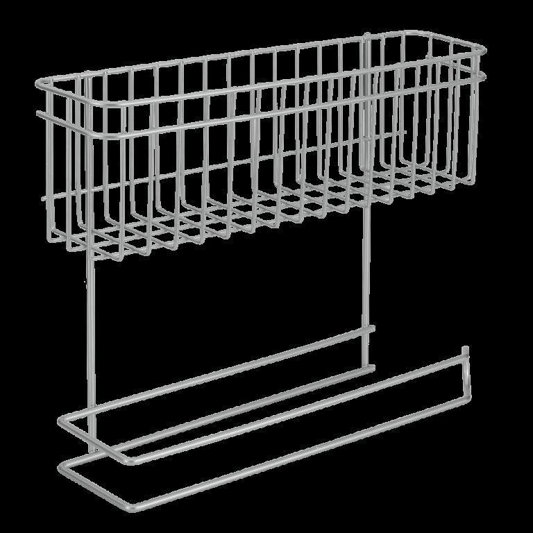 Porte rouleaux+papier absorbant 33x8x27 cm – 36.20.02