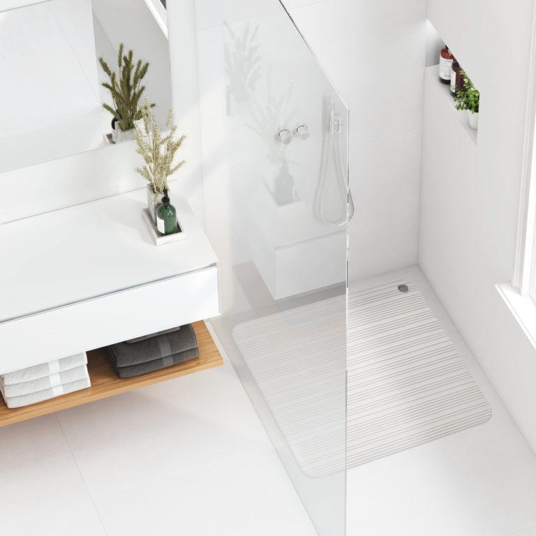 Tapis de douche – 50 x 50 cm – 2341.01 – Blanc
