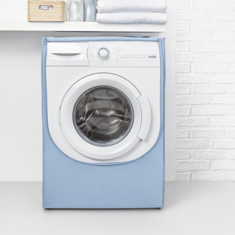 Housse pour machine à laver – 84 x 60 x 60 cm – 2368.11 – Bleu