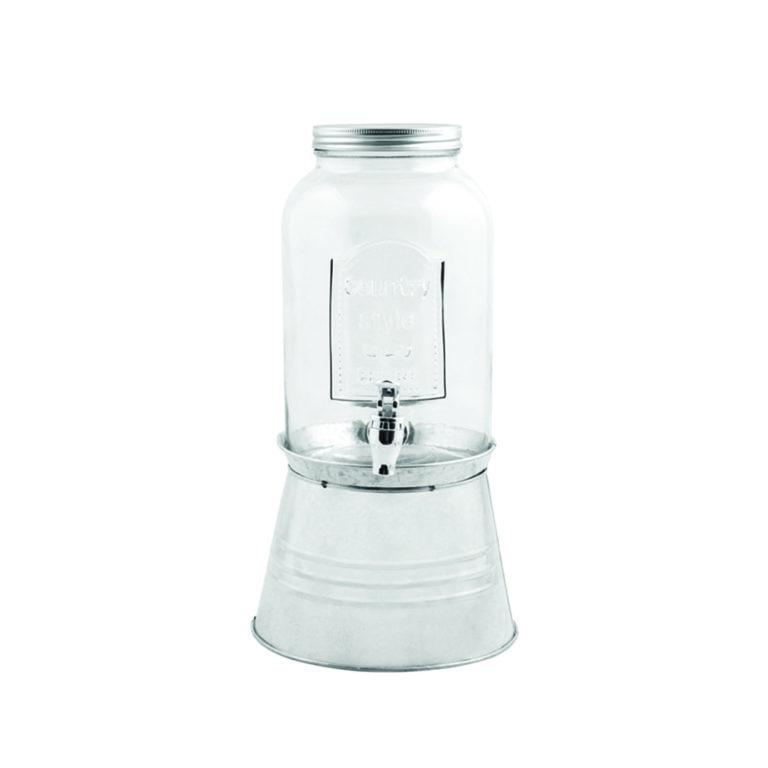 Distributeur d'eau avec stand – 3.5L – 874128 – Transparent